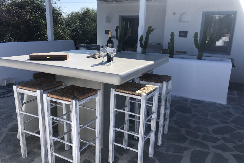 Outdoor bar table x 8 persons